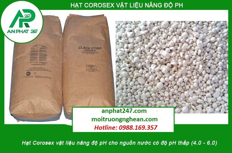 Hạt nâng pH Corosex Clack