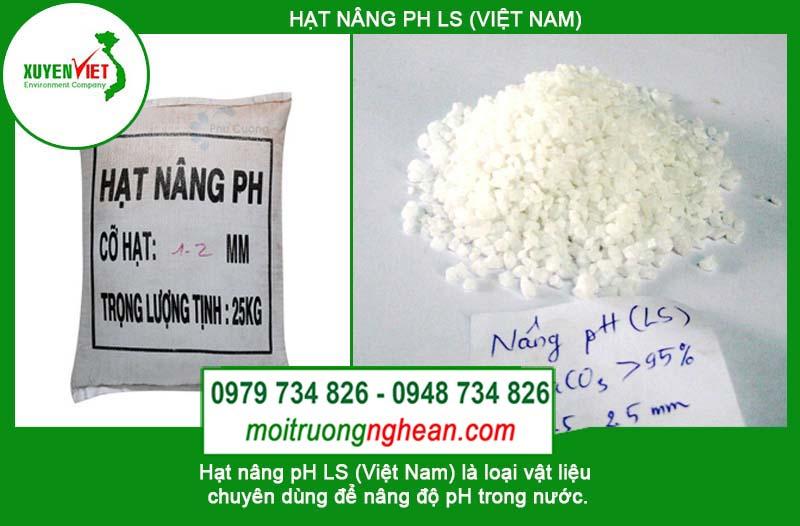 Hạt nâng pH LS