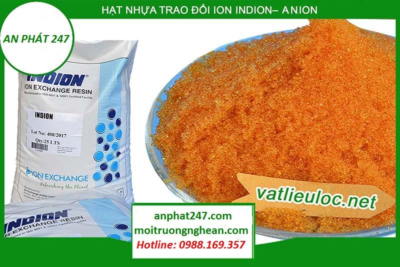 Hạt nhựa trao đổi ion INDION - Anion