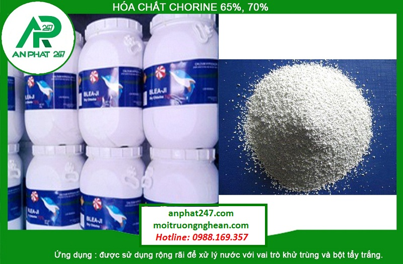 Hóa chất Chlorine 65%, 70%