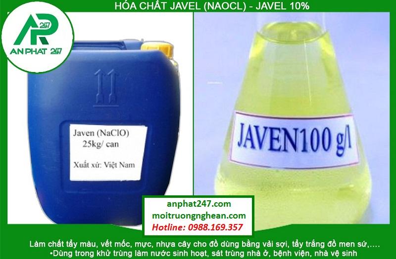 Hóa chất Javel (NaOCl)