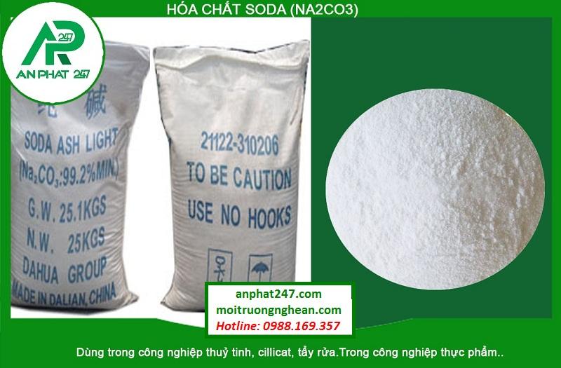 Hóa chất Soda (NA2CO3)