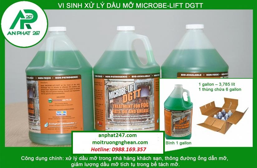 Men vi sinh xử lý dầu mỡ MICROBE-LIFT DGTT