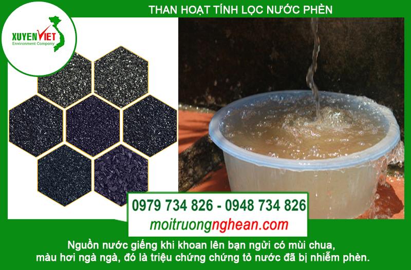 Than hoạt tính Hà Tĩnh - Công ty Môi Trường Xuyên Việt chi nhánh Miền Trung