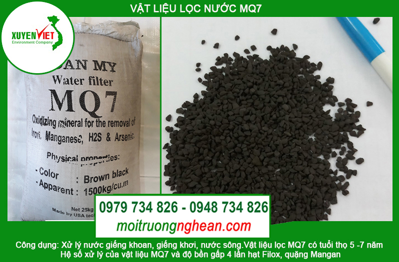 Hạt lọc nước khử phèn MQ7